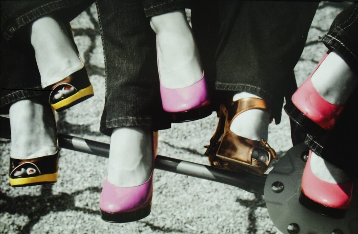 High Heel Shoes, struggle
